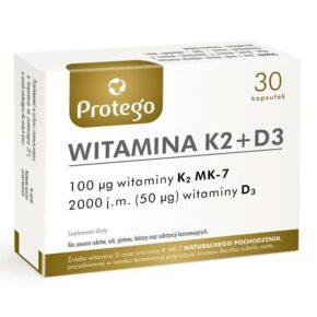 Witamina K2+D3 — 30caps