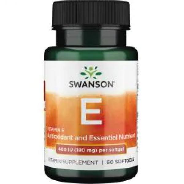 Vitamin E 400iu — 60caps