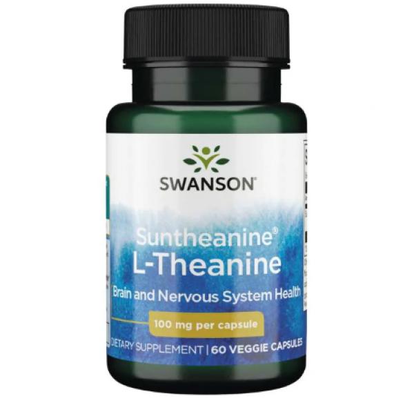 Suntheanine L-Theanina 100mg — 60veggie caps