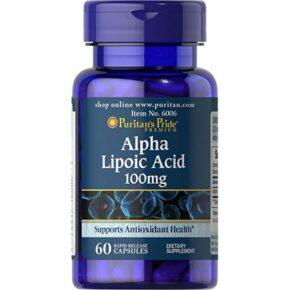 Alpha Lipoic Acid 100mg — 60caps