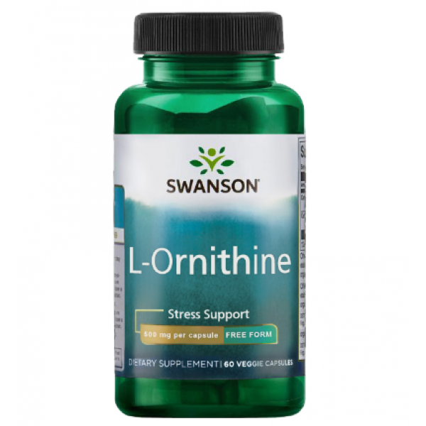 L-Ornithine 500mg — 60veg caps