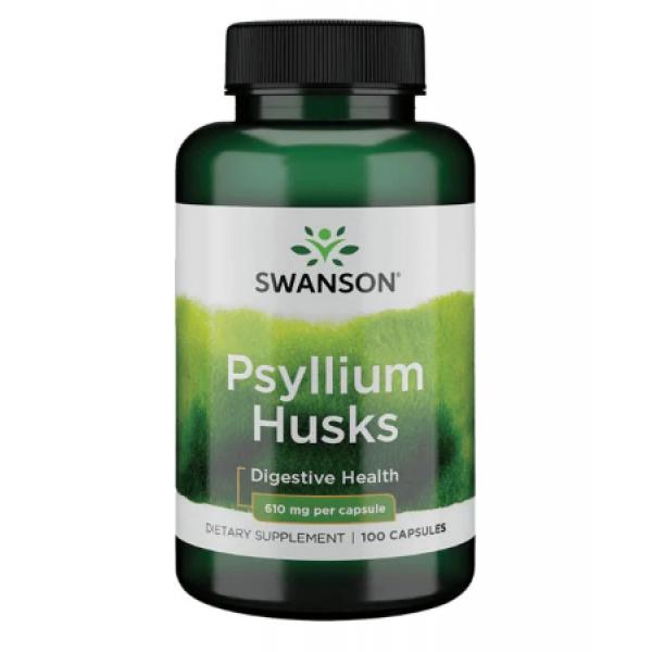 Psyllium Husks 610mg — 100caps