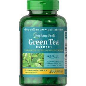 Green Tea Standardized Extract 315 mg — 200 caps