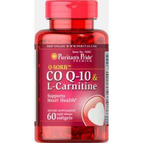 Q-SORB™ Co Q-10 30 mg plus L-Carnitine 250 mg — 60 Softgels