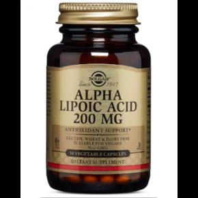 Alpha Lipoic Vega 200 mg — 50 Caps