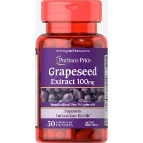 Grapeseed Extract 100mg — 50caps.