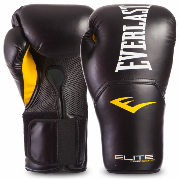 Перчатки боксерские EVERLAST PRO STYLE ELITE P00001202 16 унций черный