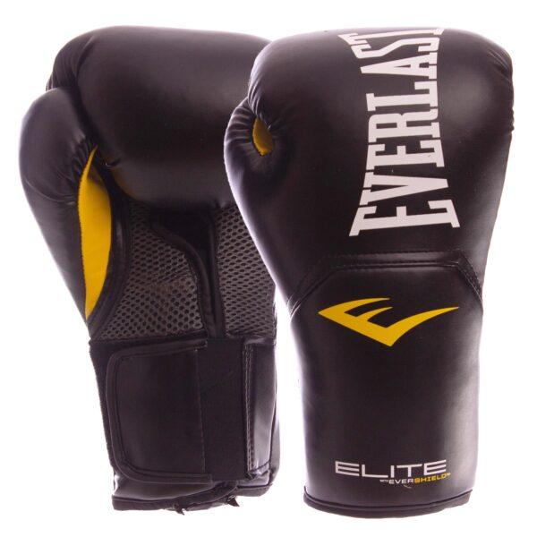 Перчатки боксерские EVERLAST PRO STYLE ELITE P00001240 12 унций черный