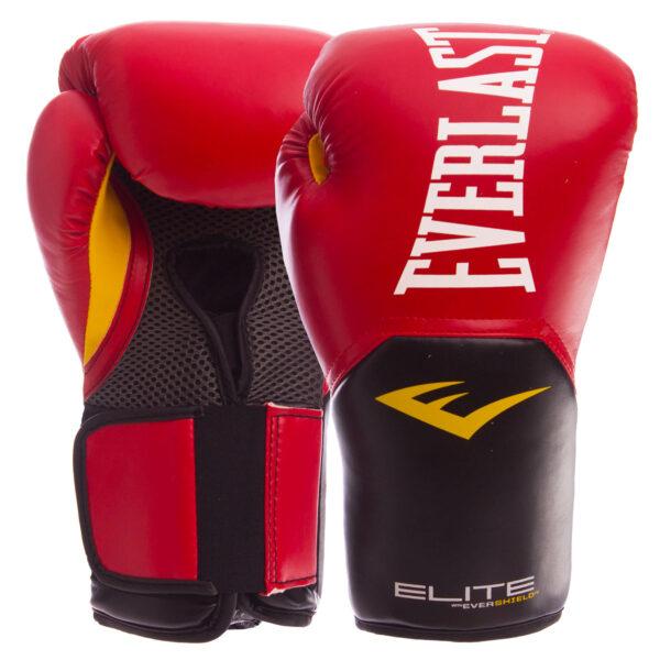 Перчатки боксерские EVERLAST PRO STYLE ELITE P00001243 12 унций красный