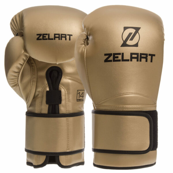 Перчатки боксерские Zelart BO-1391 10-14 унций цвета в ассортименте