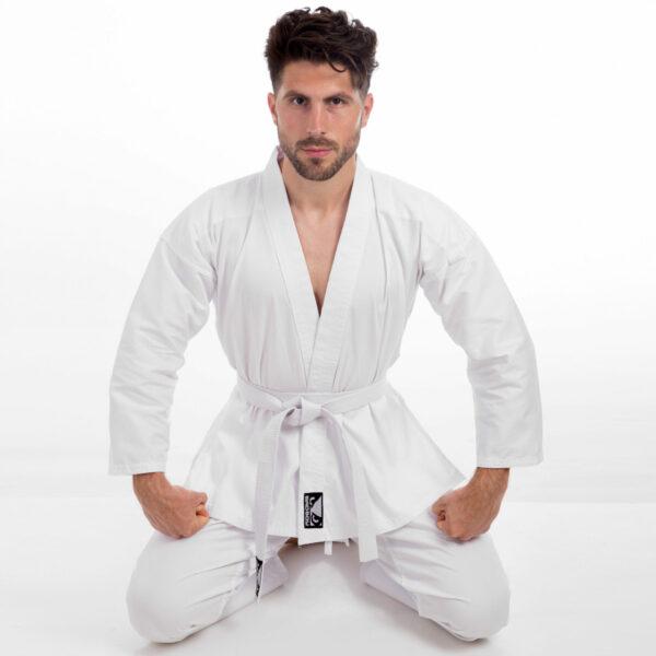Кимоно для каратэ BDB VL-8190 размер 110-190см белый