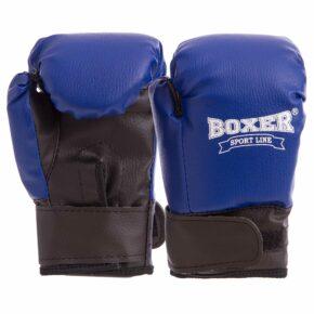 Перчатки боксерские детские BOXER 2026 4 унции цвета в ассортименте