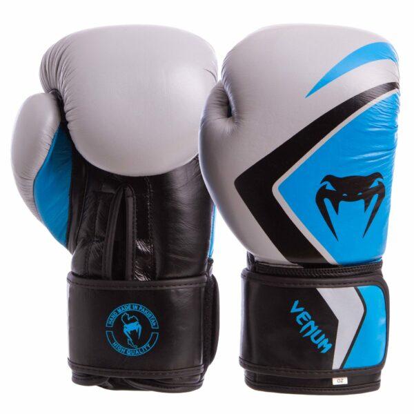 Перчатки боксерские кожаные VNM CONTENDER 2.0 VL-8202 10-14 унций цвета в ассортименте