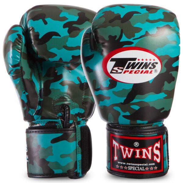 Перчатки боксерские TWINS FBGVS3-ML 12-16 унций цвета в ассортименте