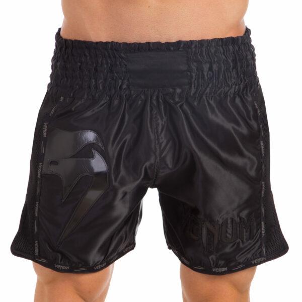 Шорты для тайского бокса и кикбоксинга VNM GIANT VL-0226 S-L черный