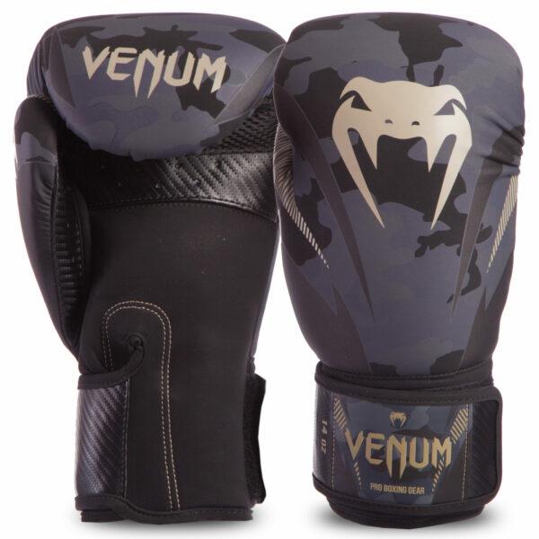 Перчатки боксерские кожаные VENUM IMPACT VENUM-03284 10-14 унций цвета в ассортименте