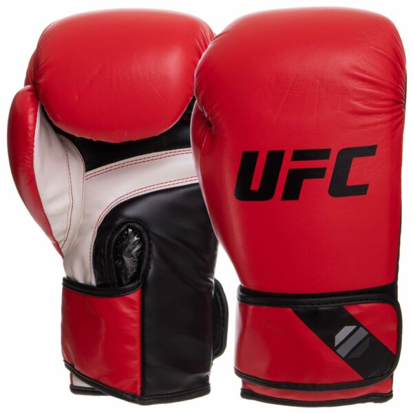 Перчатки боксерские UFC PRO Fitness UHK-75032 14 унций красный