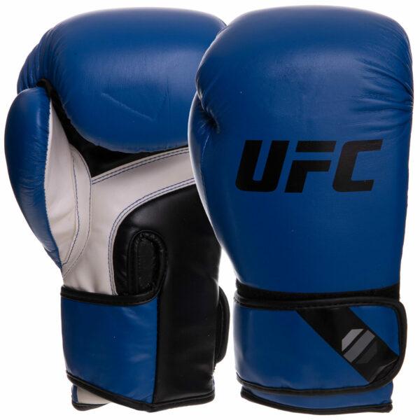 Перчатки боксерские UFC PRO Fitness UHK-75114 18 унций синий