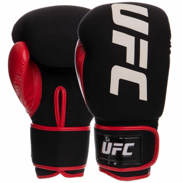 Перчатки боксерские UFC PRO Washable UHK-75011 S-M красный