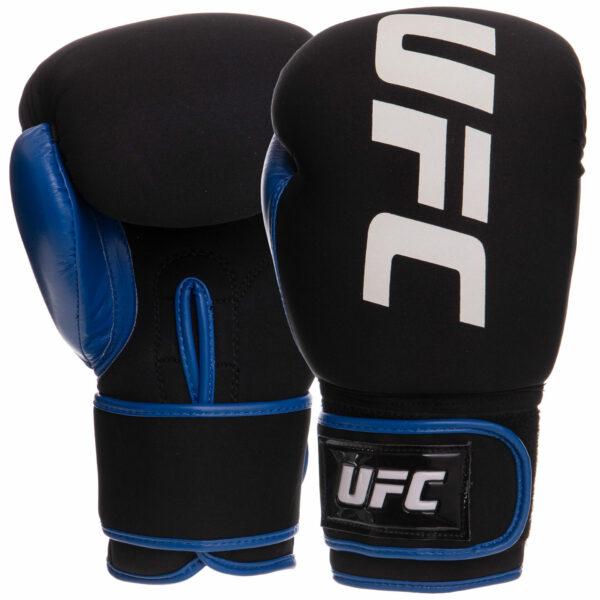 Перчатки боксерские UFC PRO Washable UHK-75016 L синий