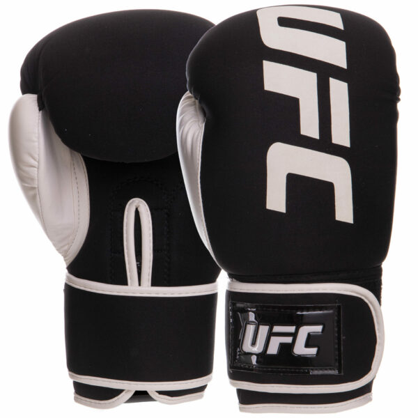 Перчатки боксерские UFC PRO Washable UHK-75023 S-M белый