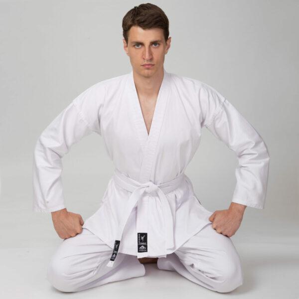 Кимоно для каратэ MATSA MA-0016 110-190см белый