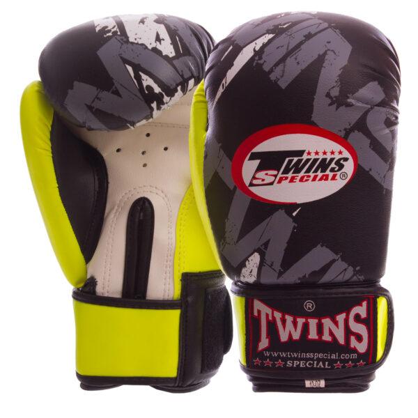 Перчатки боксерские TWN TW-2206 4-12 унций цвета в ассортименте