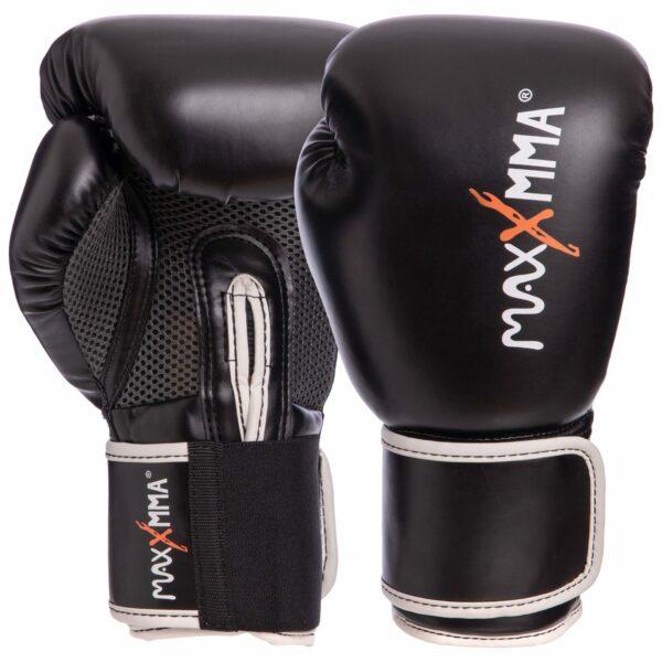 Перчатки боксерские MAXXMMA GB01S 10-12 унций цвета в ассортименте