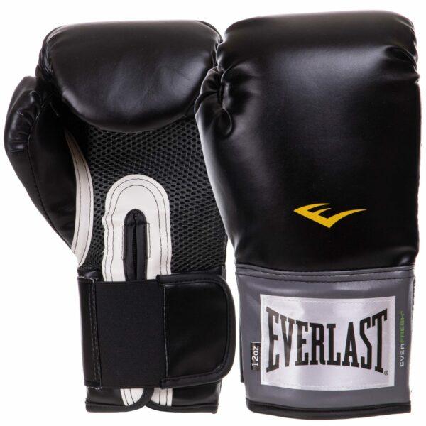 Перчатки боксерские EVERLAST PRO STYLE TRAINING EV1200013 12 унций черный