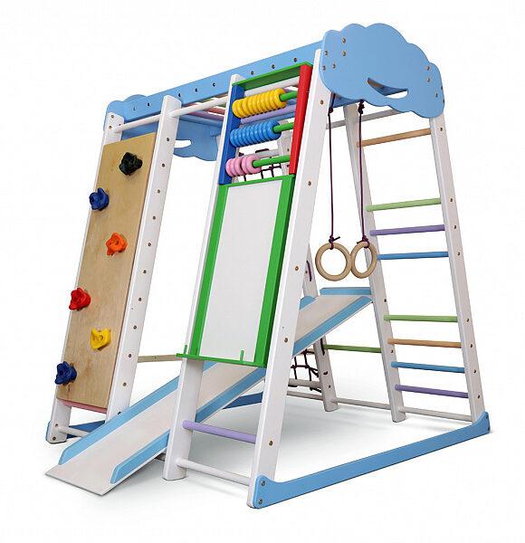 Детский игровой спортивный комплекс SportBaby Акварелька Sky 1