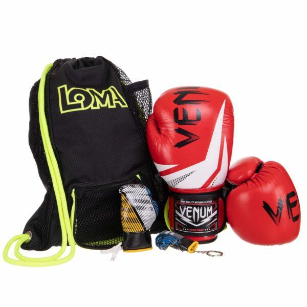 Боксерский набор 3в1 VNM 017 цвета в ассортименте