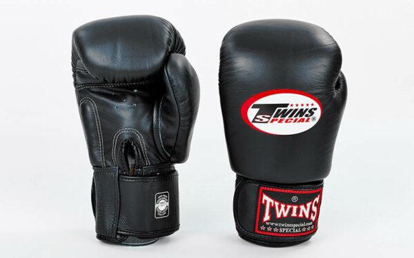 Перчатки боксерские кожаные TWINS BGVL-3 10-20 унций цвета в ассортименте