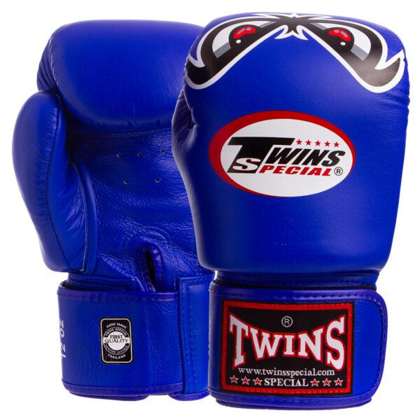 Перчатки боксерские кожаные TWINS FBGV-25 10-18 унций цвета в ассортименте