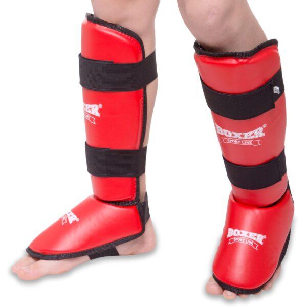 Защита голени и стопы для единоборств BOXER Элит 2004-4 S-XL цвета в ассортименте