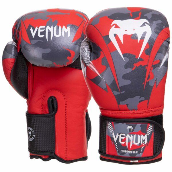 Перчатки боксерские кожаные VNM DCS014 10-14 унций цвета в ассортименте