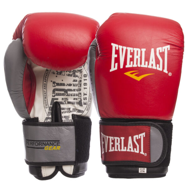 Перчатки боксерские ELS EV-009B 10-14 унций цвета в ассортименте