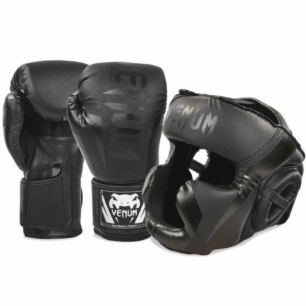 Комплект защиты для бокса перчатки защита голени и стопы VNM CHALLENGER BO-7041-5698 S-L 6-14 унций цвета в ассортименте