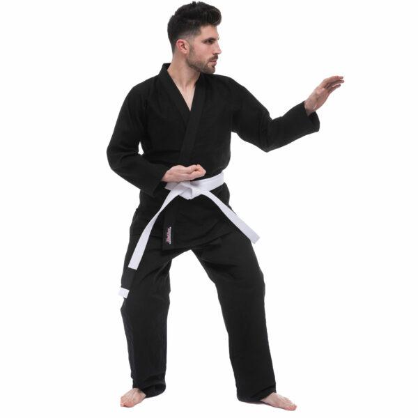Кимоно для джиу-джитсу HARD TOUCH JJS 140-180см черный