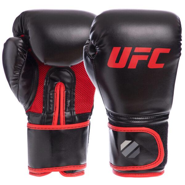 Перчатки боксерские UFC Myau Thai Style UHK-69673 12 унций черный
