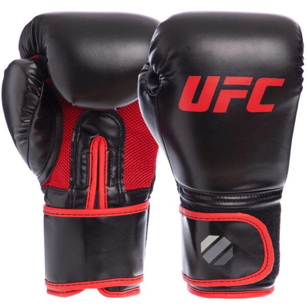 Перчатки боксерские UFC Myau Thai Style UHK-69680 14 унций черный
