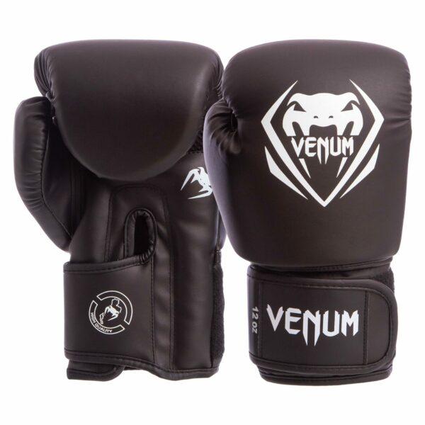 Перчатки боксерские VNM BO-8353-BK 8-12 унций черный