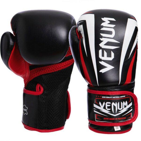 Перчатки боксерские кожаные VNM SHARP VL-2032 10-14 унций цвета в ассортименте