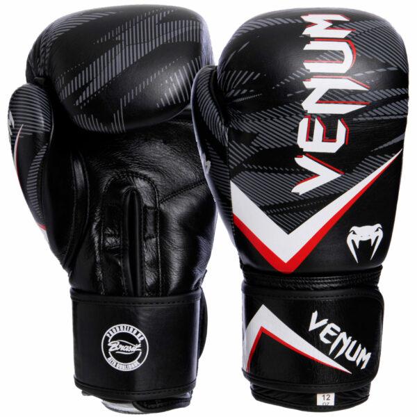 Перчатки боксерские кожаные VNM IMPACT VL-2038 10-14 унций цвета в ассортименте