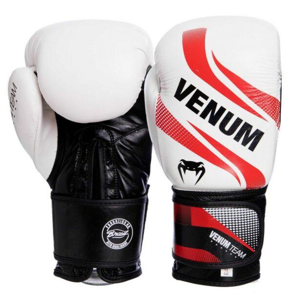Перчатки боксерские кожаные VNM COMMANDO VL-2040 10-14 унций цвета в ассортименте