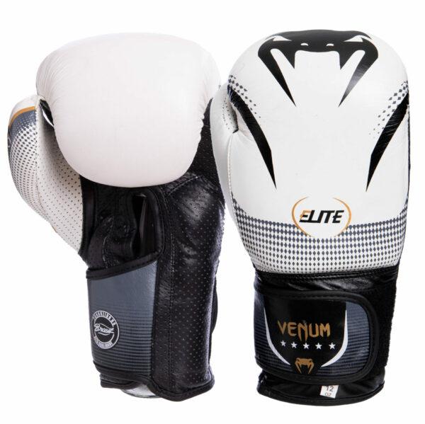 Перчатки боксерские кожаные VNM NEW ELITE VL-2042 10-14 унций цвета в ассортименте
