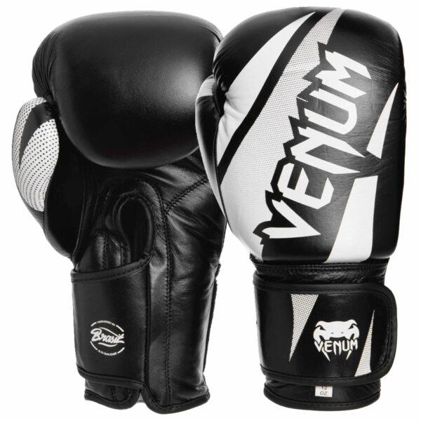Перчатки боксерские кожаные VNM CHALLENGER BRASIL VL-2049 10-14 унций цвета в ассортименте