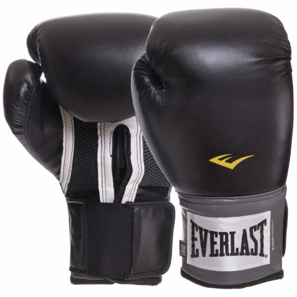 Перчатки боксерские EVERLAST PRO STYLE TRAINING EV1200015 8-16 унций черный