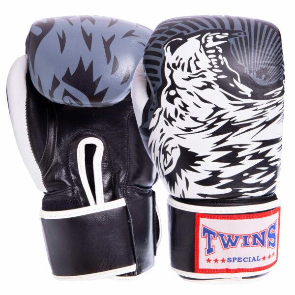 Перчатки боксерские кожаные TWN VL-2064 10-12 унций цвета в ассортименте
