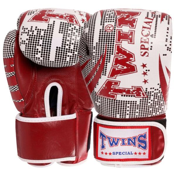Перчатки боксерские кожаные TWN VL-2066 10-12 унций цвета в ассортименте