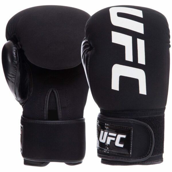 Перчатки боксерские UFC PRO Washable UHK-75007 S-M черный